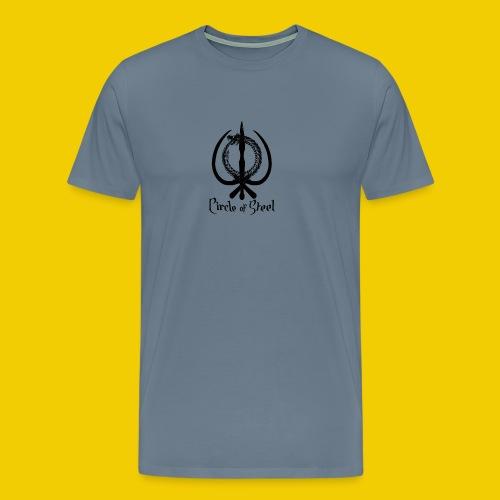 circle_of_steel_logo21 - Men's Premium T-Shirt
