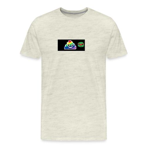 ninja poop - Men's Premium T-Shirt