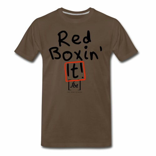 Red Boxin' It! [fbt] - Men's Premium T-Shirt