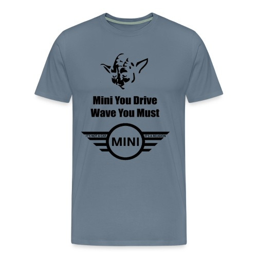 yoda wave - Men's Premium T-Shirt
