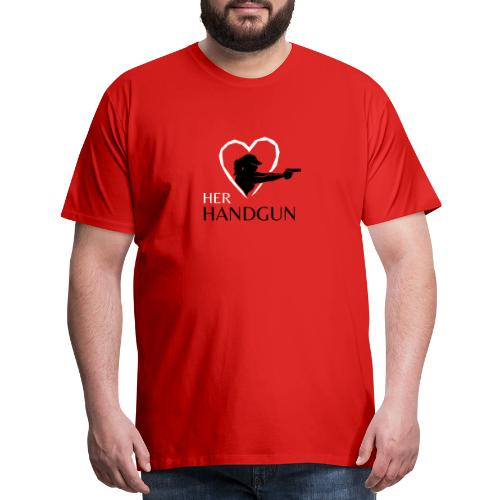 Official HerHandgun Logo - Men's Premium T-Shirt