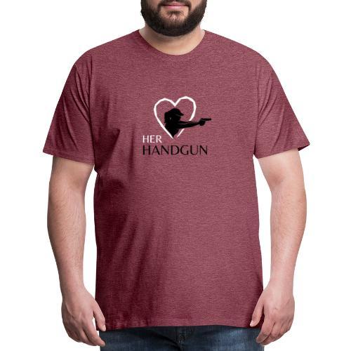 Official HerHandgun Logo - Men's Premium T-Shirt