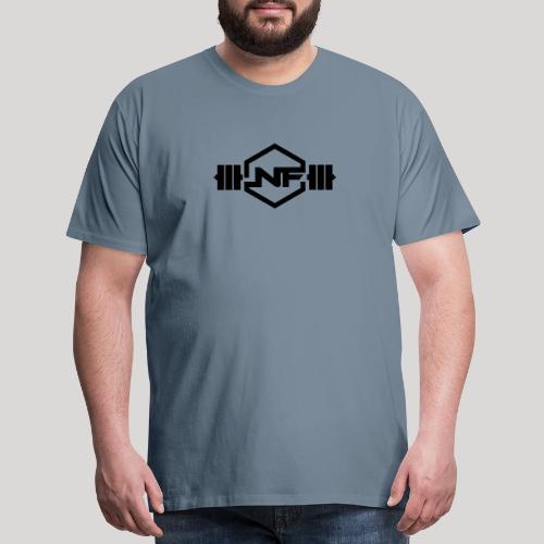 Natural Fitness Gym Logo - Men's Premium T-Shirt