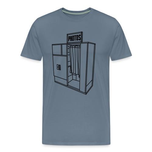 Photobooth.net T-Shirt with Logo and Name - Men's Premium T-Shirt