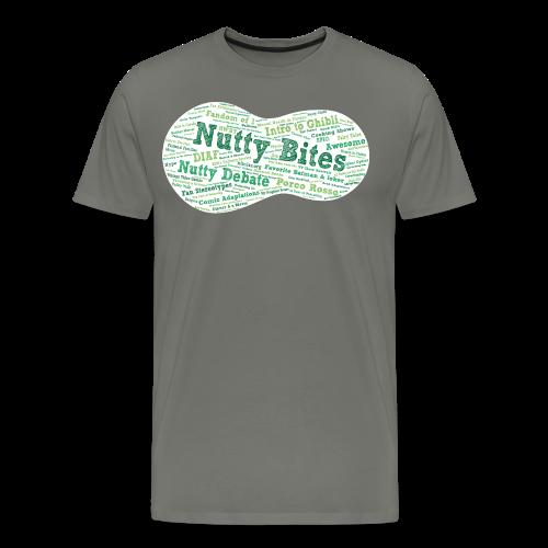 Nutty Bites 100 on Dark - Men's Premium T-Shirt