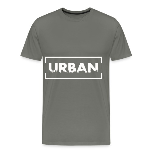 Urban City Wht - Men's Premium T-Shirt
