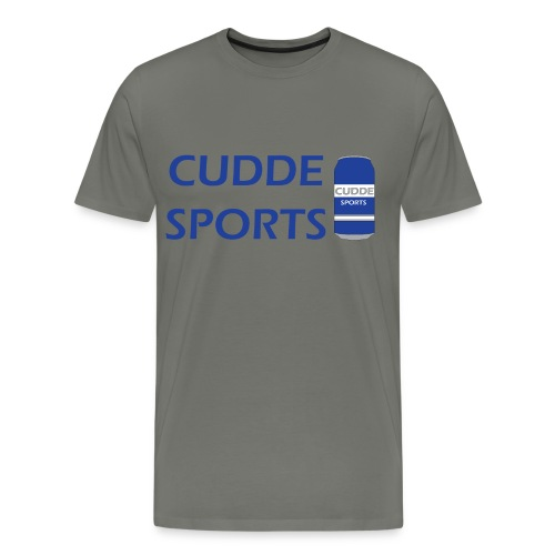 cudde sports t shirt logo - Men's Premium T-Shirt