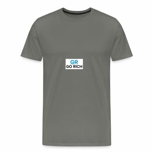 Go rich - Men's Premium T-Shirt