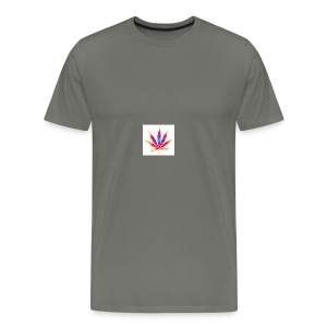 weed leaf2 0 - Men's Premium T-Shirt