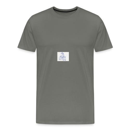 danh-ngon-tieng-anh-ve-cuoc-song-1 - Men's Premium T-Shirt