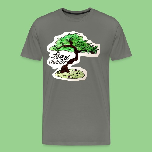 forest dweller Tree - Men's Premium T-Shirt