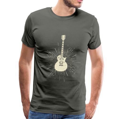 Vintage Guitar - Men's Premium T-Shirt