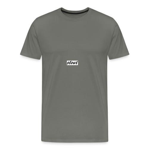 stout - Men's Premium T-Shirt