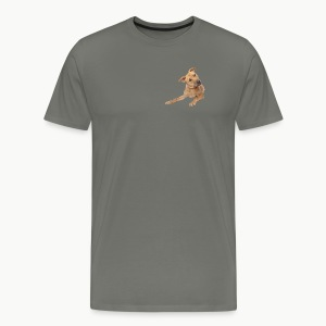 cute dog - Men's Premium T-Shirt