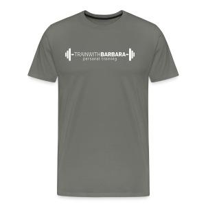 TWB White Logo - Men's Premium T-Shirt