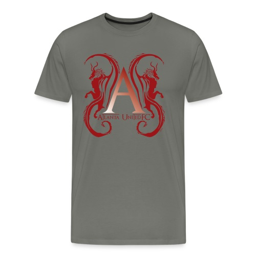 AUFC Logo red - Men's Premium T-Shirt