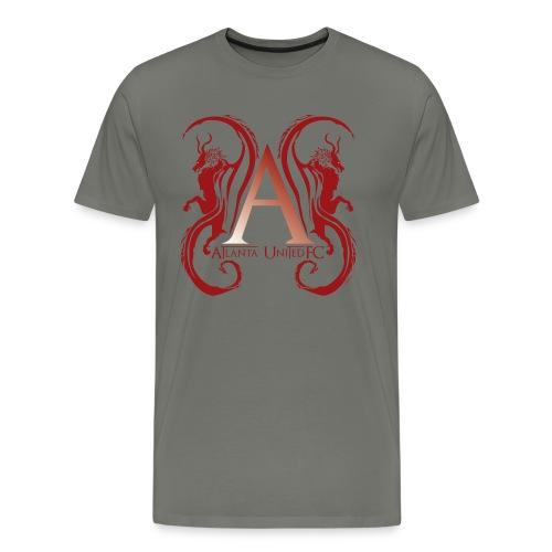 AUFC Logo red - Men's Premium T-Shirt