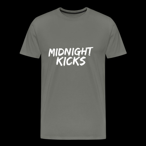 Midnight Kicks Logo - Men's Premium T-Shirt