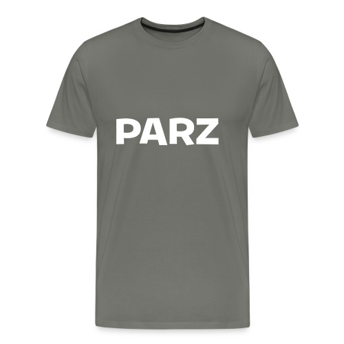 PARZ Classic Logo - Men's Premium T-Shirt