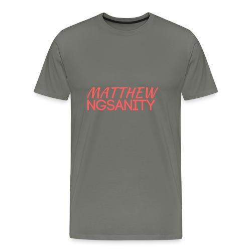 MATT NGS4N1TY Logo - Men's Premium T-Shirt