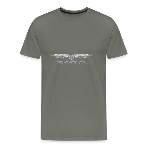 agla_t_shirt_bw - Men's Premium T-Shirt