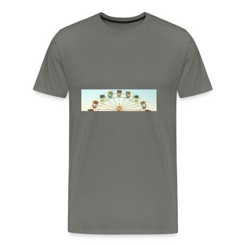 header_image_cream - Men's Premium T-Shirt