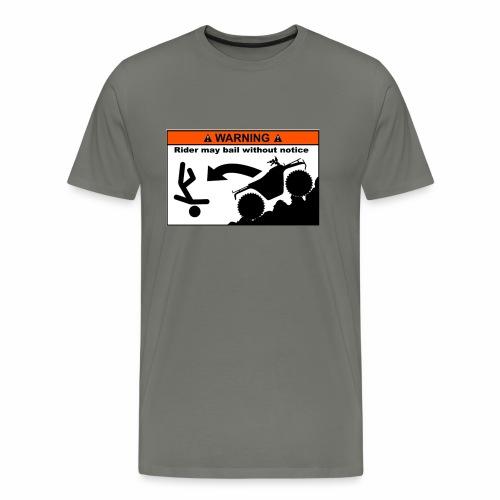 ATV Rider Bail - Men's Premium T-Shirt