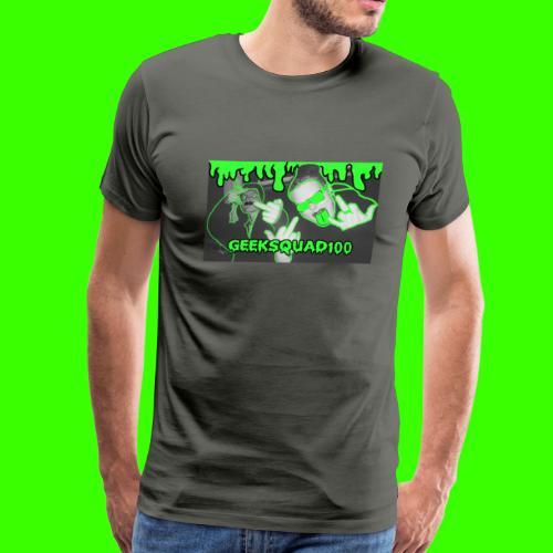 Geeksquad100 - Men's Premium T-Shirt