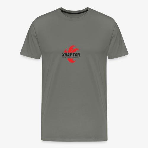 Finla Logo BlackTransparent - Men's Premium T-Shirt