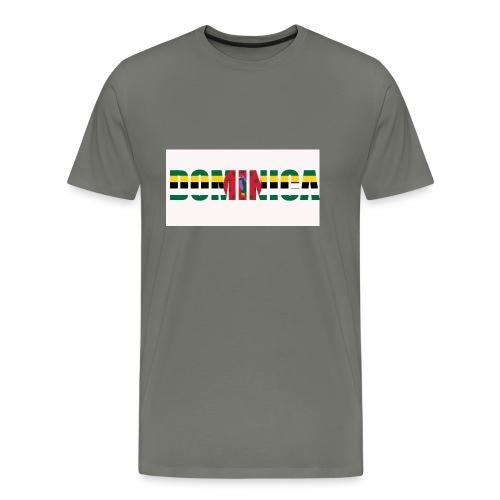 Flag of Dominica - Men's Premium T-Shirt