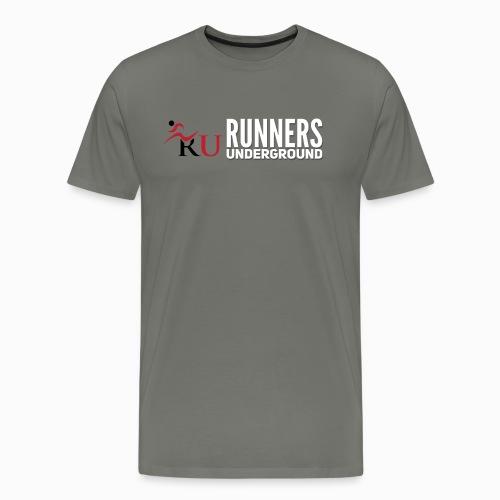 Runners Underground Logo W - Men's Premium T-Shirt