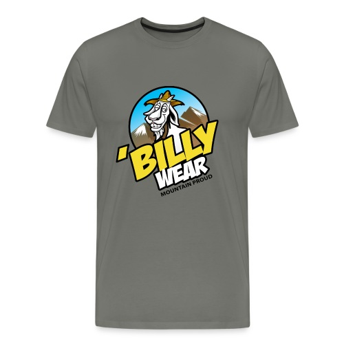 'Billy Wear brand logo - Men's Premium T-Shirt