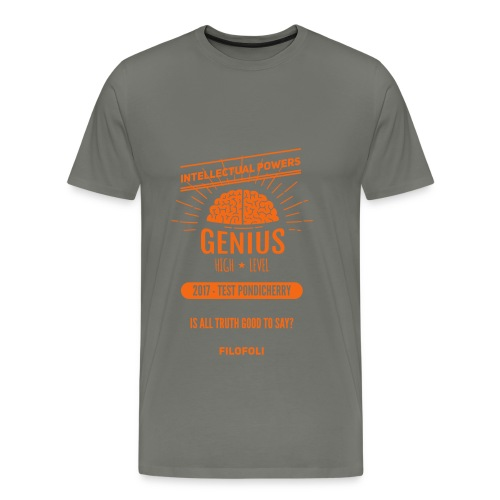 2017 TEST PONDICHERRY - Men's Premium T-Shirt