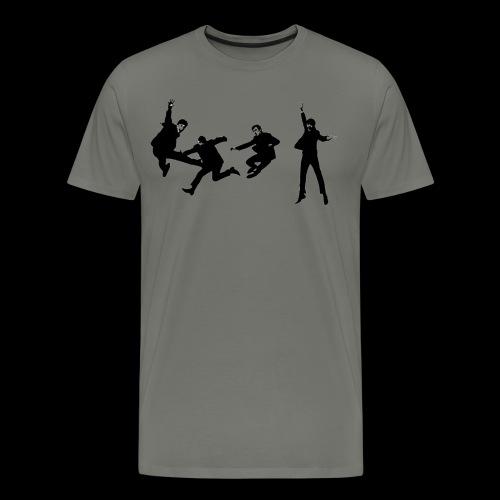 beatles jump - Men's Premium T-Shirt