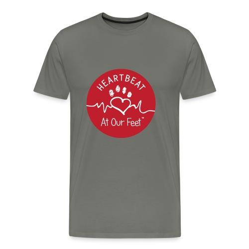HAOF logo - Men's Premium T-Shirt