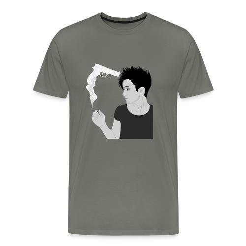 Smoking gun - Men's Premium T-Shirt