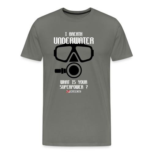 DIVER SCUBA fun - Men's Premium T-Shirt