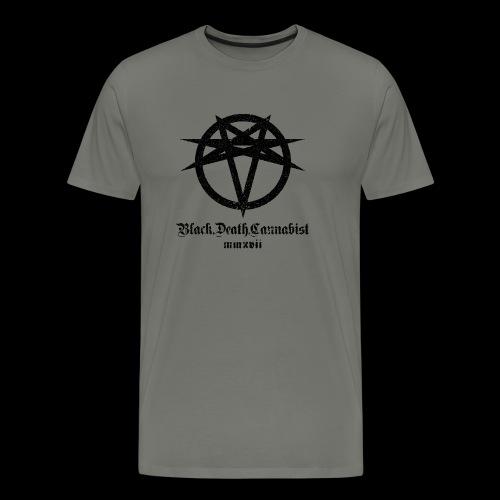 BlackDeathCannabist Logo - Men's Premium T-Shirt