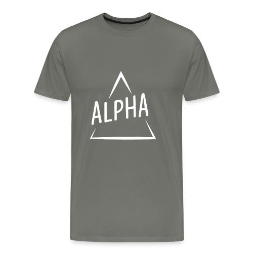 Alpha Brand - Men's Premium T-Shirt