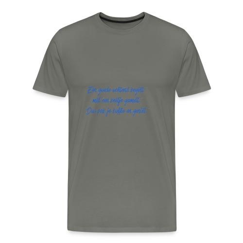 Kopje voor koffie - GAMEIT - Men's Premium T-Shirt