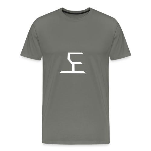 white SaKe logo - Men's Premium T-Shirt
