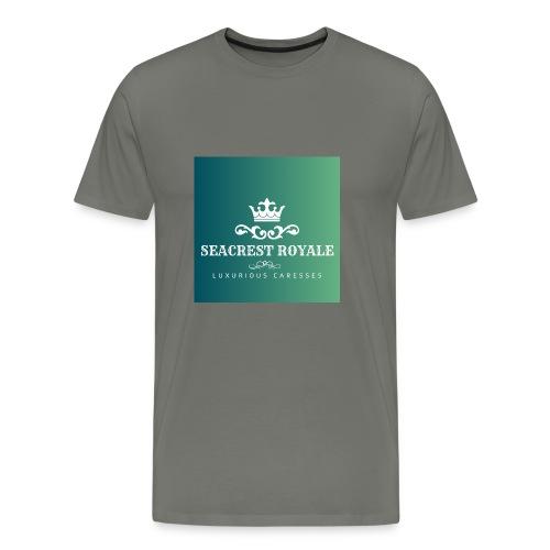 SeaCrest Royale Logo - Men's Premium T-Shirt