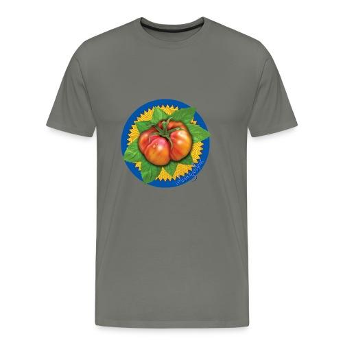 Heirloom Tomato Art, by Urban Gardens - Men's Premium T-Shirt