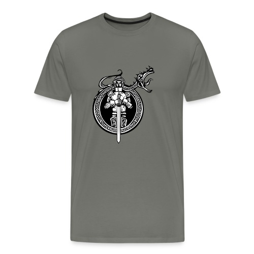 logo knight - Men's Premium T-Shirt