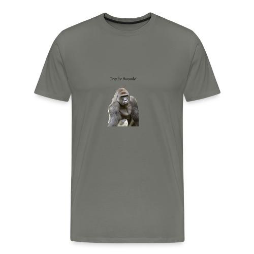 Pray for Harambe - Men's Premium T-Shirt