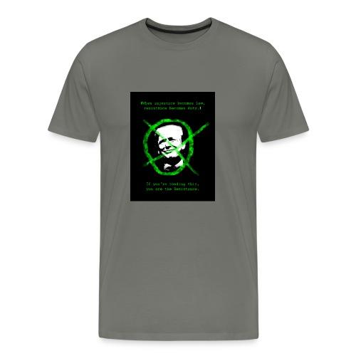 Anti Donald Trump Resistance Election 2016 T-shirt - Men's Premium T-Shirt