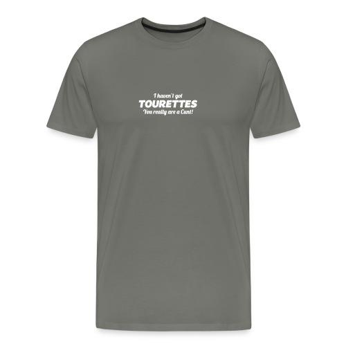 TOURETTES LOGO - Men's Premium T-Shirt