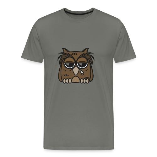 Smoking Owl - Men's Premium T-Shirt