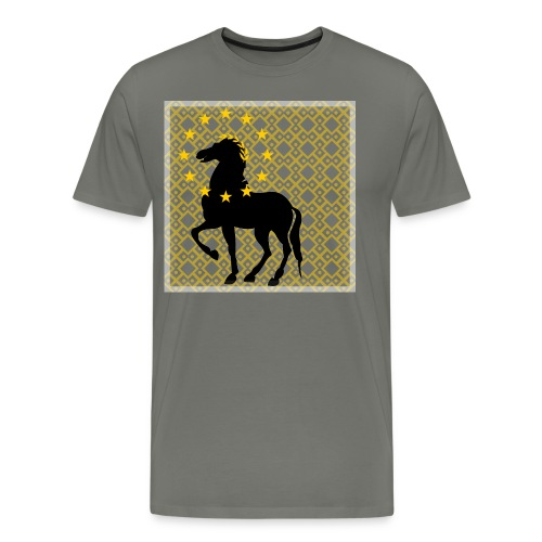 Roman Horse - Men's Premium T-Shirt
