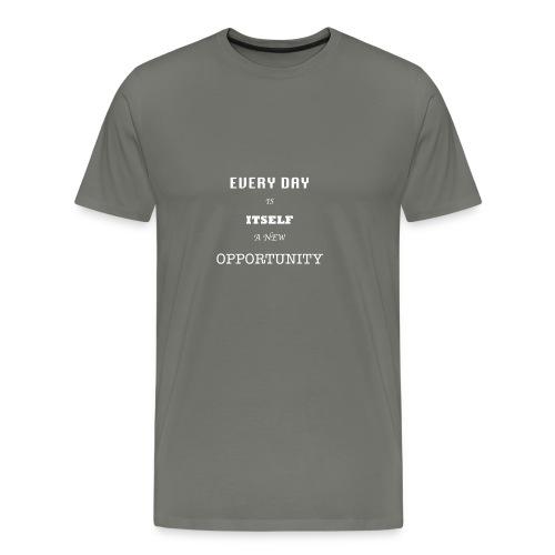 Opportunity (in White) - Men's Premium T-Shirt